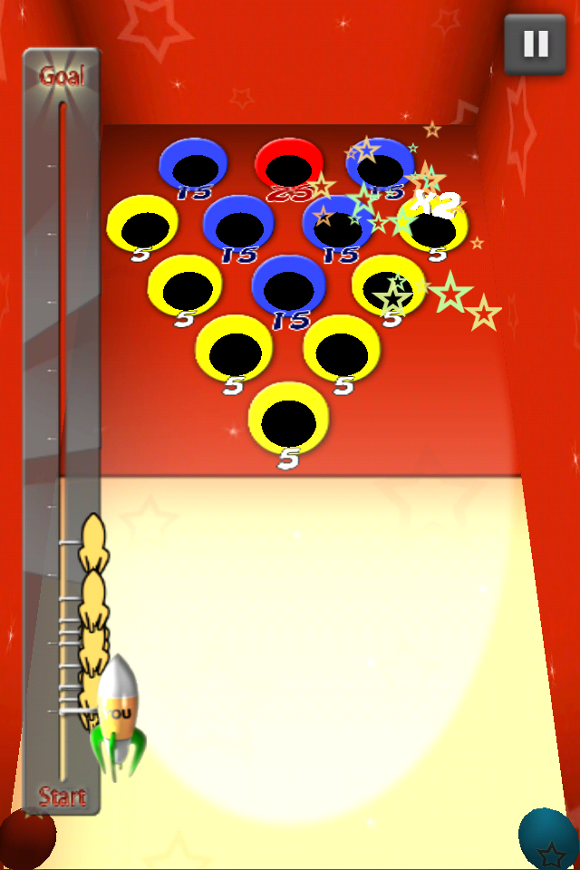 Screenshot Rocket Balls